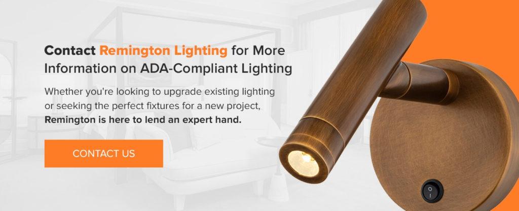 Remington Lighting has ADA Compliant lighting